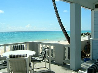 View From Our Barbados Beach Cottage